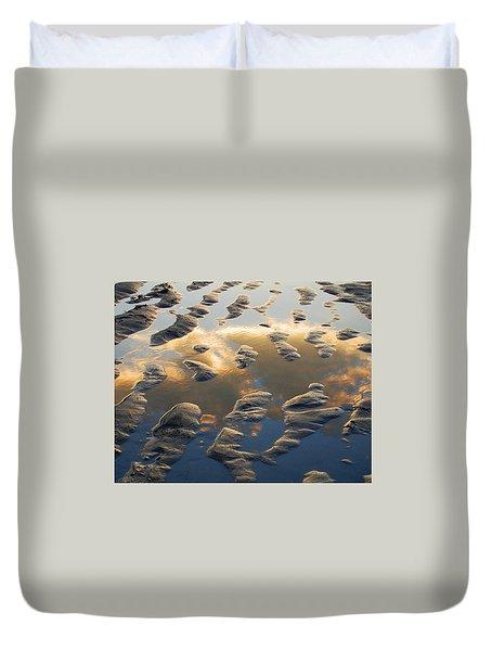 Front Beach Duvet Cover