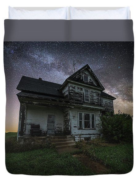Front Porch  Duvet Cover by Aaron J Groen