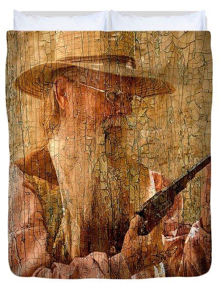 Frontiersman Duvet Cover