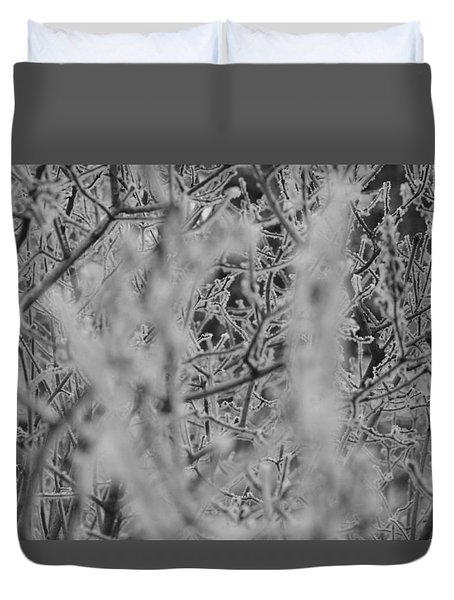 Frost 2 Duvet Cover by Antonio Romero