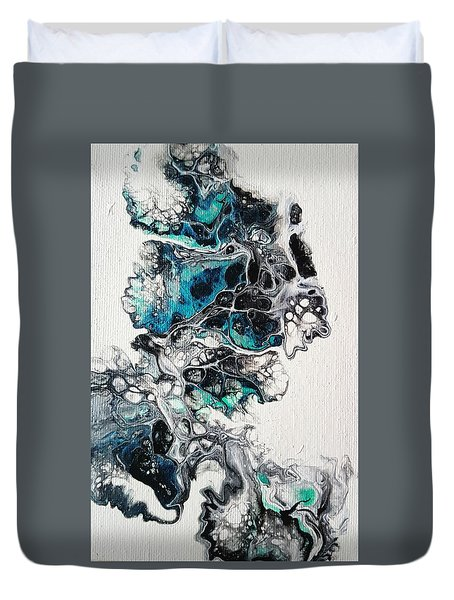 Frost And Ice Duvet Cover