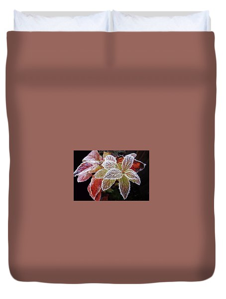 Frost Cluster Duvet Cover