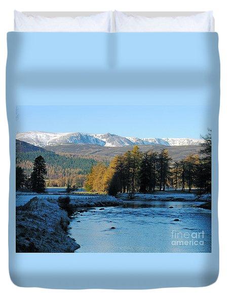 Frost In The Glen - Invercauld Duvet Cover