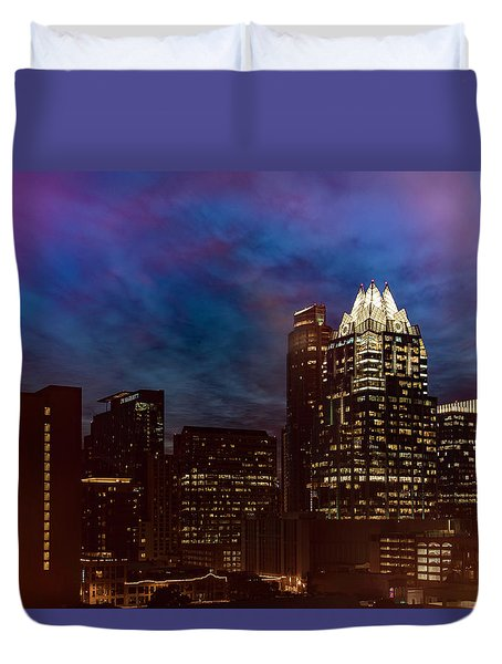 Frost Tower Duvet Cover