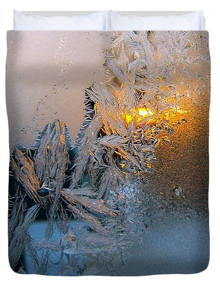 Frost Warning Duvet Cover
