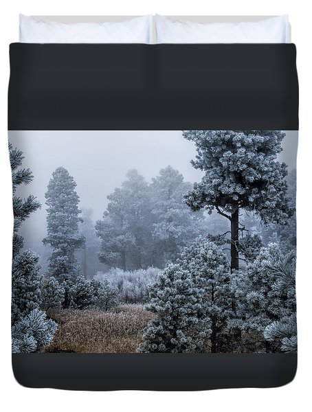 Frosted Duvet Cover by Alana Thrower