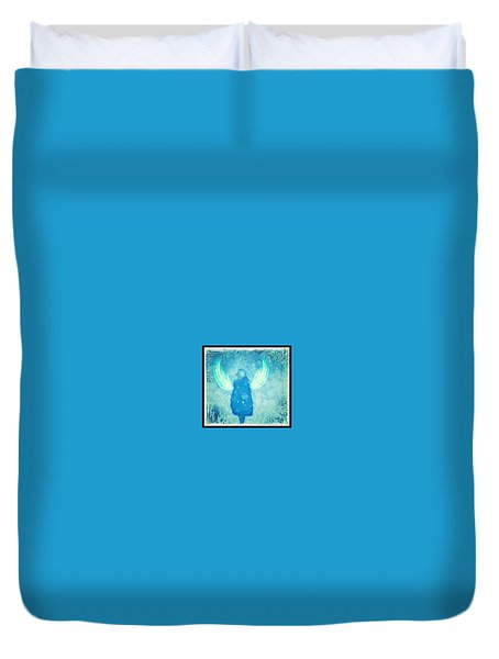 Frosted Angel Duvet Cover