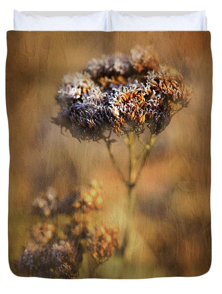 Frosted Bloom Duvet Cover