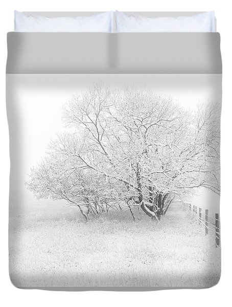 Frosted Duvet Cover