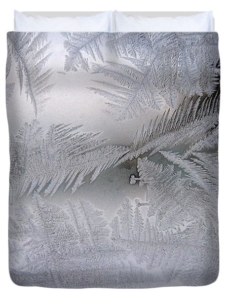 Frosted Pane Duvet Cover