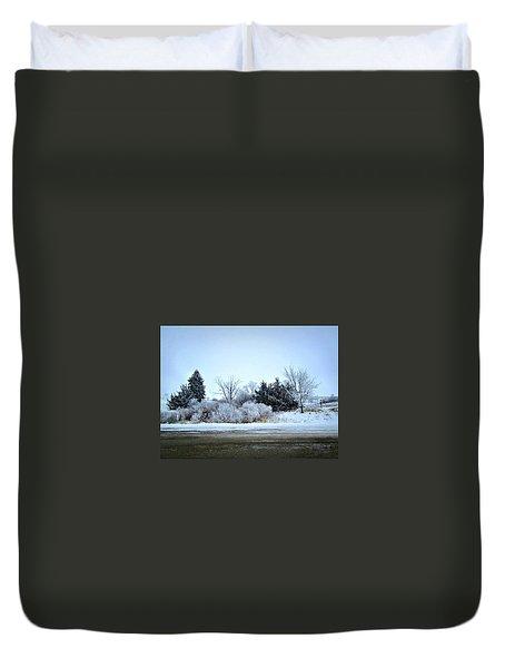 Frostie Duvet Cover
