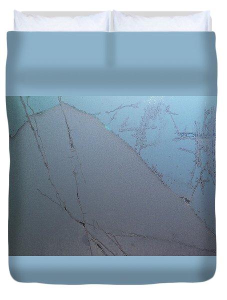 Frostwork - The Hill Duvet Cover