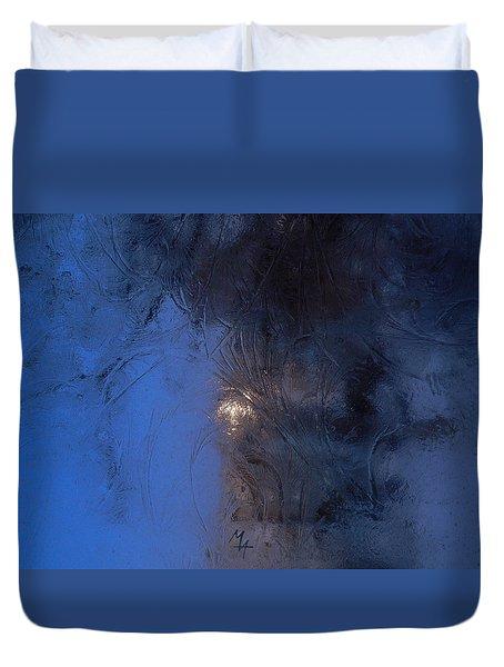 Frostwork - Engraved Night Duvet Cover