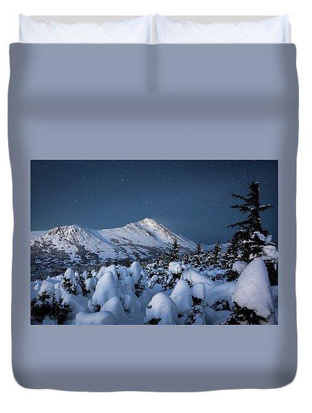 Frosty False Omalley C Duvet Cover