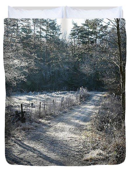 Frosty Morning Duvet Cover