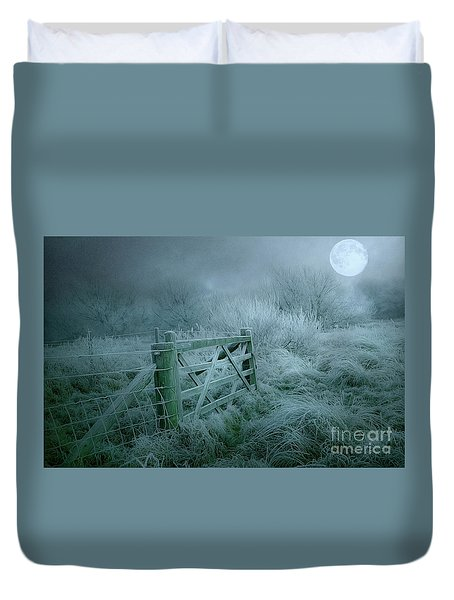 Frosty Night Duvet Cover