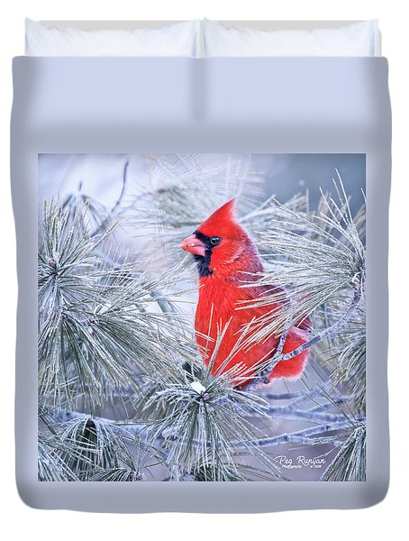 Frosty Seat Duvet Cover