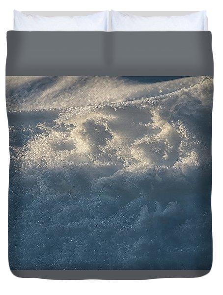 Frosty Texture -  Duvet Cover