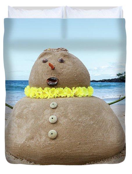 Frosty The Sandman Duvet Cover