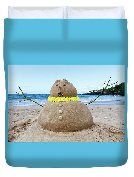 Frosty The Sandman Duvet Cover