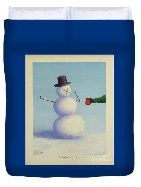 Frosty's Nightmare I Duvet Cover