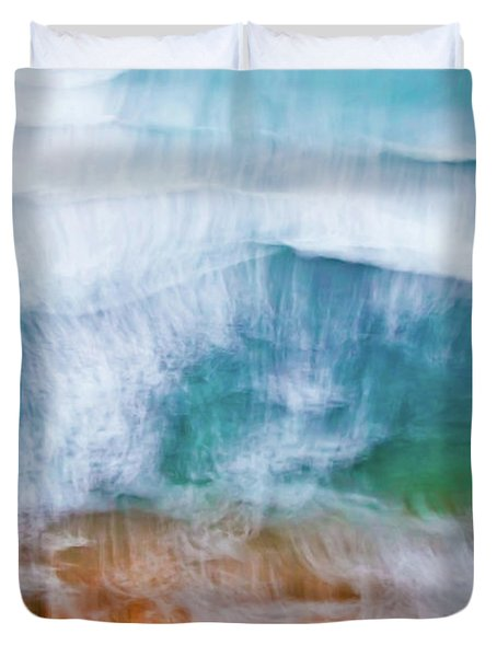 Frothing Over Duvet Cover