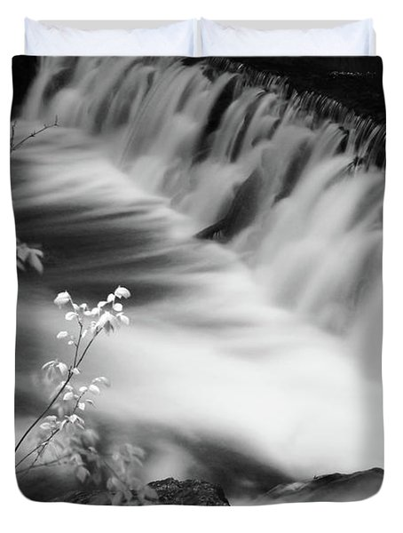 Frothy Falls Duvet Cover