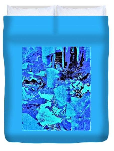 Frozen Beauty Duvet Cover