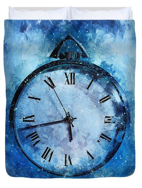 Frozen In Time Duvet Cover