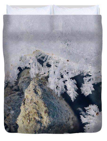 Frozen Rock Duvet Cover