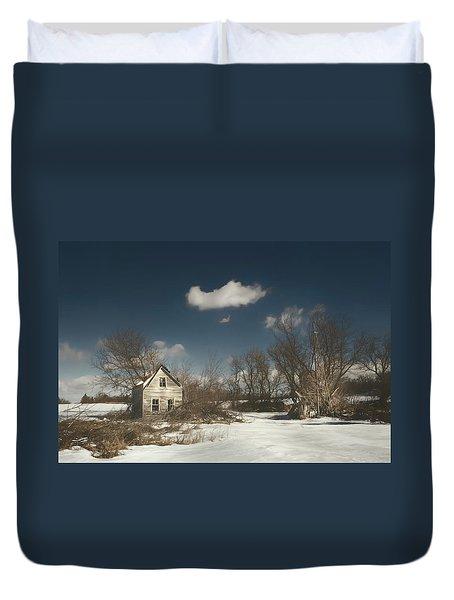 Frozen Stillness Duvet Cover