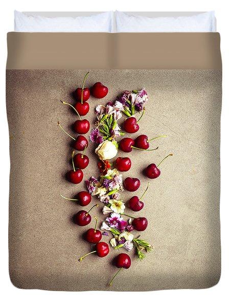 Fruit Art Duvet Cover