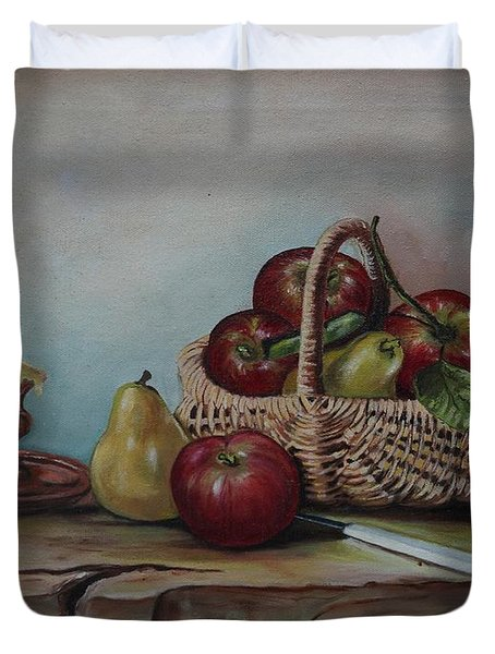 Fruit Basket - Lmj Duvet Cover
