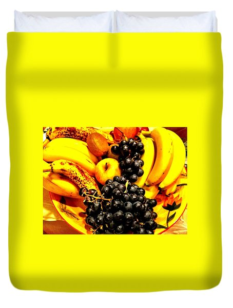 Fruit Basket Duvet Cover