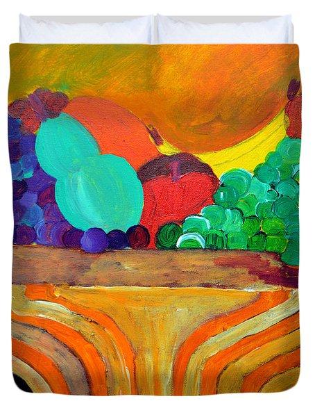 Fruit Bowl 1 Duvet Cover