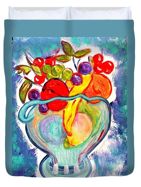 Fruit Bowl Duvet Cover