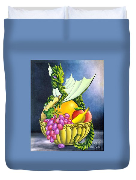 Fruit Dragon Duvet Cover