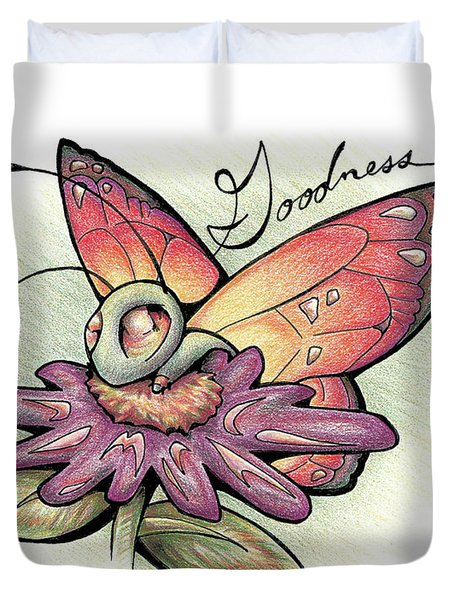 Fruit Of The Spirit Goodness Duvet Cover
