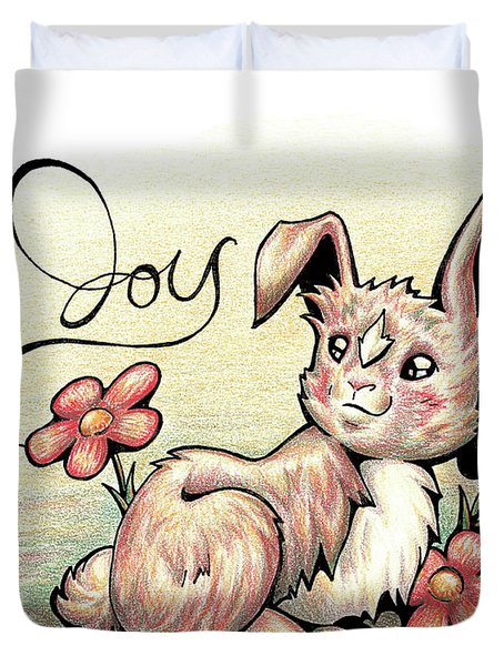 Fruit Of The Spirit Joy Duvet Cover