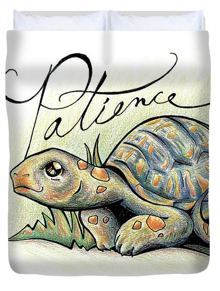 Fruit Of The Spirit Patience Duvet Cover