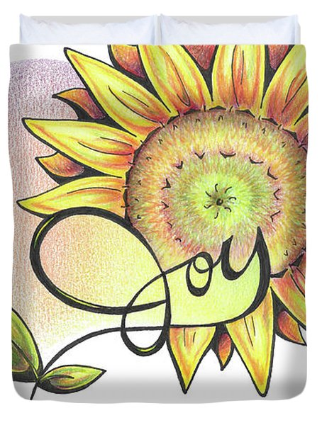 Fruit Of The Spirit Series 2 Joy Duvet Cover