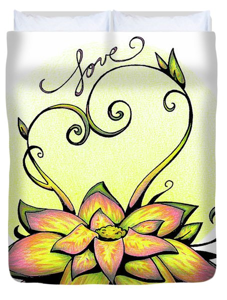 Fruit Of The Spirit Series 2 Love Duvet Cover