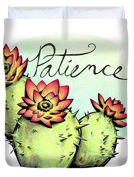 Fruit Of The Spirit Series 2 Patience Duvet Cover