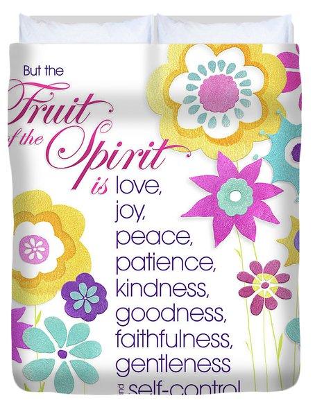 Fruit Of The Spirit Duvet Cover