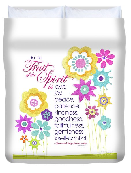 Fruit Of The Spirit Duvet Cover