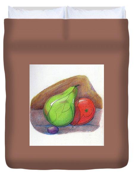 Fruit Still 34 Duvet Cover