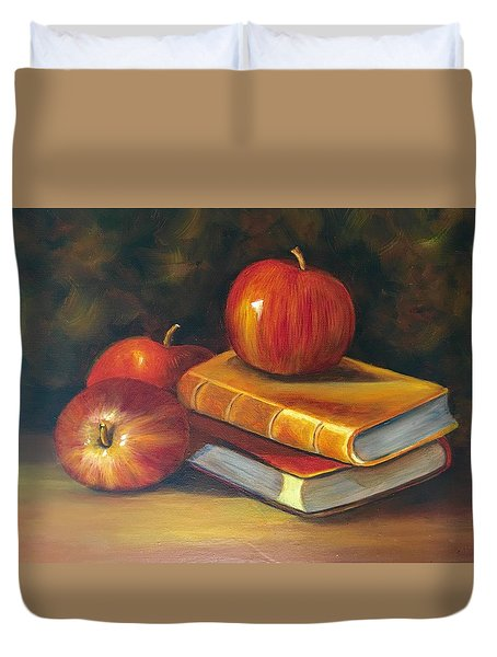 Fruitful Afternoon Duvet Cover by Susan Dehlinger
