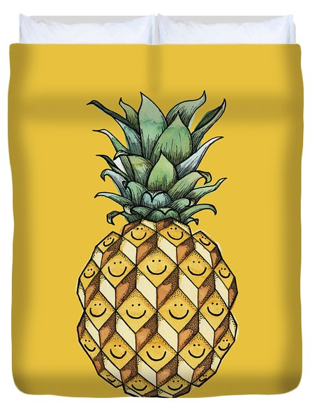 Fruitful Duvet Cover by Kelly Jade King