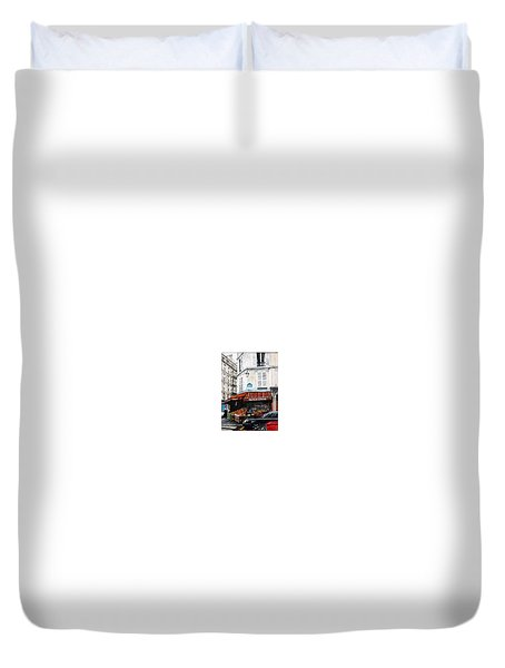 Fruits Et Legumes Duvet Cover by Tim Johnson