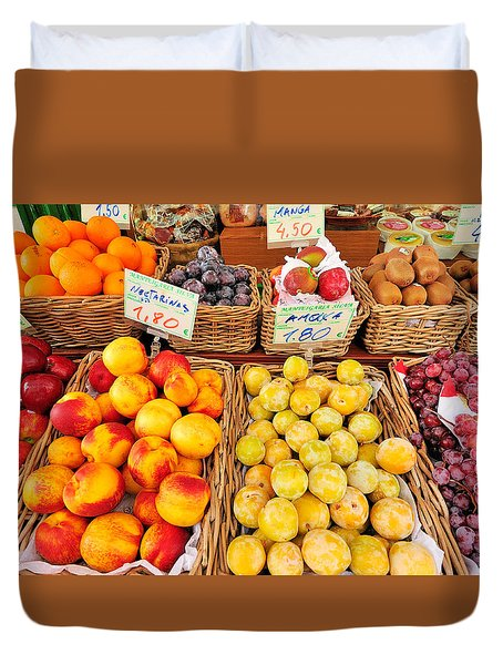 Fruits Duvet Cover